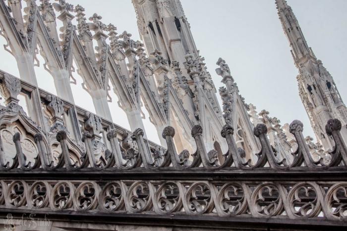 Миланский собор крыша