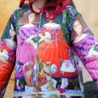 Утепленная Куртка с принтом 17010