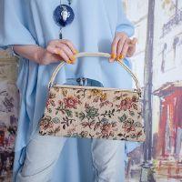 Винтажная сумочка из гобелена 18006